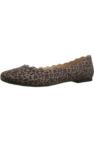 ATHENA Damen Ballerinas Toffy, ( Leopard)