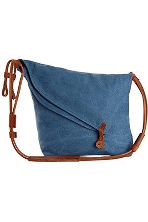 Tom Clovers Damen Reisetaschen - Umhängetasche für Damen, Segeltuch, Kuriertasche, Weekender, modische Tasche, (Blaues Upgrade)