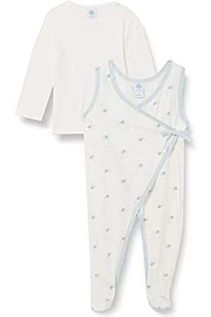 Sanetta Baby-Jungen Strampler beige Kleinkind-Schlafanzüge