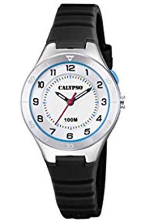 Calypso Unisex Analog Gesteppte Daunenjacke Uhr mit Kunststoff Armband K5800/4