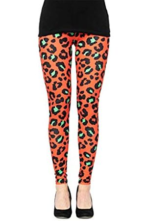 cosey Damen Animalprint Leopardenmuster Leggings