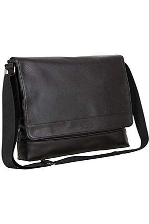 Kenneth Cole Laptop- & Aktentaschen - Strident-Class Umhängetasche aus veganem Leder für Laptops und Tablets, 15 Zoll (38,1 cm), für Arbeit, Schule