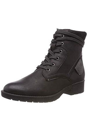 Soft Line Damen 25262-21 Combat Boots, (Black 001)