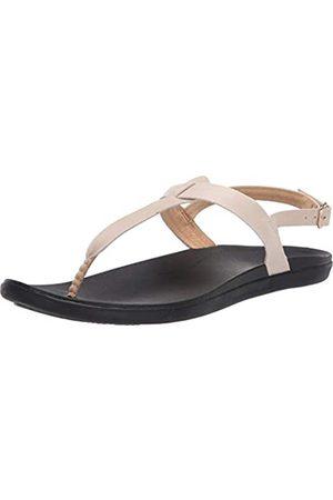 Olukai Damen Sandalen - Ekekeu Sandals - Women's Tapa/Black 6