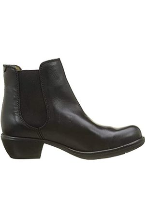 Fly London Damen MAKE Chelsea Boots Stiefel, (Black 018)