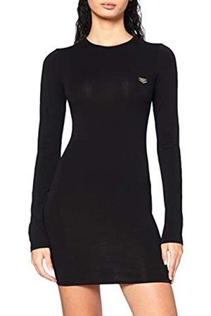 Gianni Kavanagh Damen Freizeitkleider - Damen Black Core Long Sleeve Dress Kleid