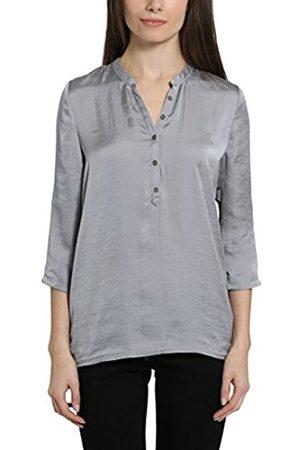 Berydale Damen Bluse mit V-Ausschnitt und Knopfleiste