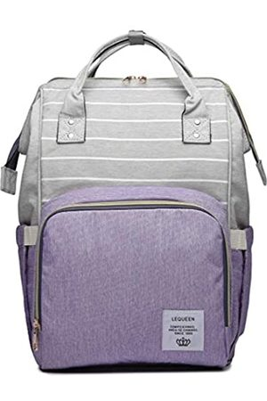 QIXINGHU Multifunktionale Wickeltasche für Baby-Pflege, Reiserucksack, Windeltasche, Handtaschen