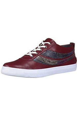 Marc Joseph New York Damen Schuhe - Damen Leather Laceup Fashion Bowery Sneaker Turnschuh