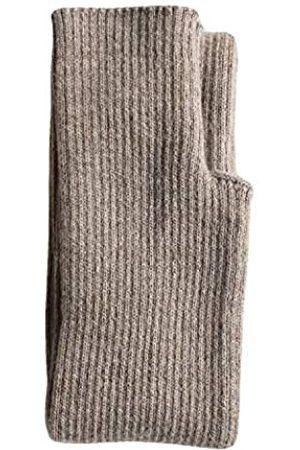 Share Maison Damen Handschuhe - Damen Armstulpen mit Daumenloch Winter Fingerlos Dehnbar Kaschmir Wolle Lange Handschuhe Ärmel - - Medium