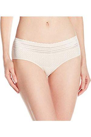 Warner's Damen Hipster Panty No Pinching No Problems Spitze - Beige - Medium