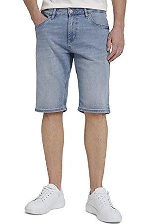 TOM TAILOR Herren Bermuda Shorts - Herren 1025047 Josh Denim Bermuda Shorts, 10280-Light Stone Wash