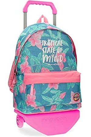 Maui & Sons Maui and Sons Tropical State Rucksack mit Trolley 31x42x17