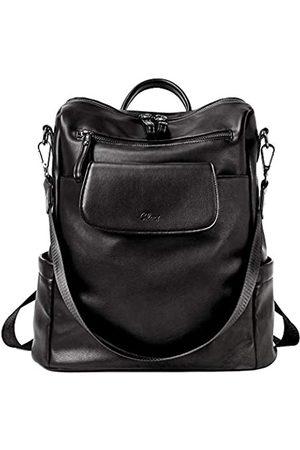 CLUCI Rucksack für Damen, modisch, Leder, Designer-Reise, groß