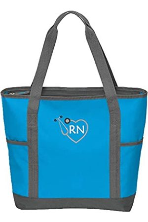 The Crafty Engineer RN Krankenschwestertasche mit Reißverschluss und Seitentaschen