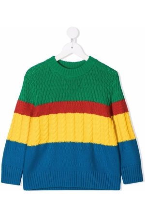 Stella McCartney Pullover in Colour-Block-Optik
