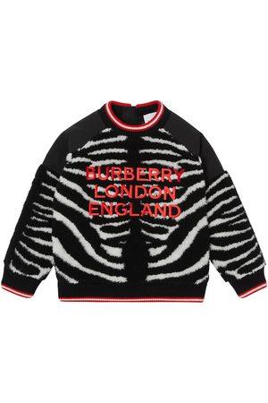 Burberry Kids Jungen Strickpullover - Pullover mit Logo-Stickerei