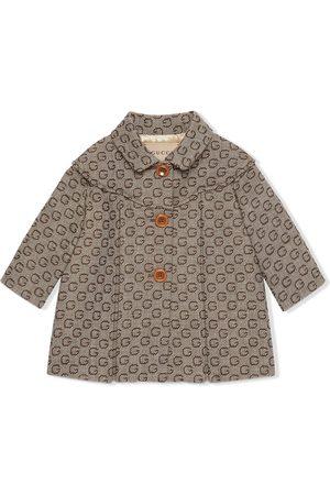 Gucci Mäntel - G motif wool coat