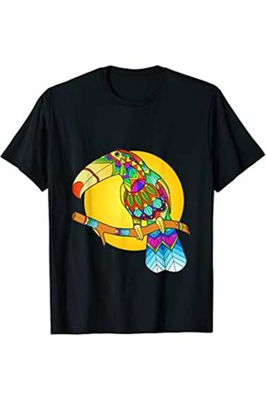 Wowsome! Damen Shirts - Ethnic Toucan Boho Mandala Yoga Lover Men Women T-Shirt