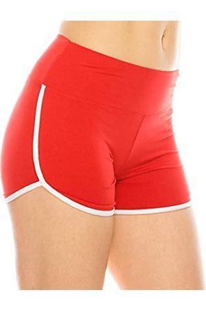 Always Damen Workout-Yoga-Shorts – Premium Buttery Soft Solid Stretch Cheerleader Laufen Tanz Volleyball Kurze Hose - - Klein