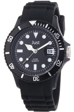 Just Watches Damen-Armbanduhr Rubber Strap Collection Analog Quarz Silikon 48-S5456-BK