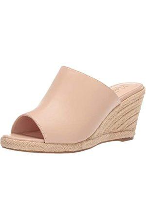 Nanette Lepore Damen-Sandale aus Espadrille, (Nude)