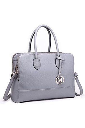 MISS LULÙ Aktentasche Handtasche Laptoptasche Arbeitstasche Schultertasche Messenger Bag Retro Elegant Damen (LT1726- )