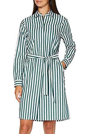 Seidensticker Damen Blusenkleid Midi - Bügelleichtes Blusenkleid mit Hemdblusenkragen - Regular Fit – Langarm