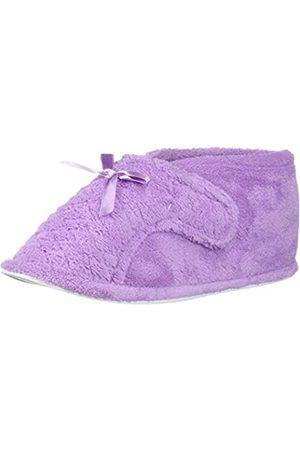 MUK LUKS Damen Hausschuhe - Women's Micro Chenille Front Flap Adjustable Boot Slipper