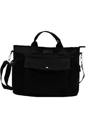 PAPARIA Damen-Handtasche mit Tragegriff oben, Laptop-Tasche, Segeltuch