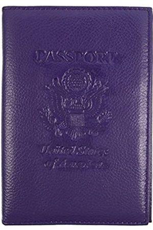 Parqeut RFID-Echtleder-Eagle-Prägung für Reisepass