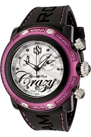 Glam Rock Miami Beach Collection GR60100 Damen-Armbanduhr, Chronograph, Topas