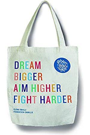 Rebel Girls Damen Handtaschen - Canvas Tote Bag für Damen