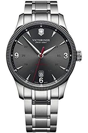Victorinox Unisex Analog Automatik Uhr mit Edelstahl Armband 241714.1