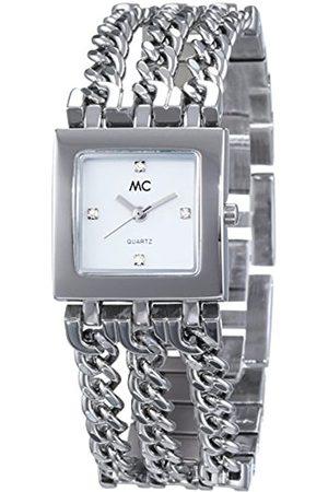 MC Damen Uhren - Damen-Armbanduhr Analog Quarz Messing 11672