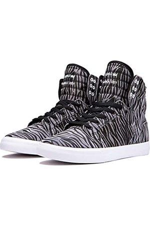 Supra Unisex-Erwachsene Skytop Hohe Sneaker, Mehrfarbig (Zebra-White-M 51)
