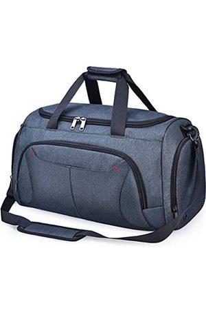 NUBILY Gym Duffle Bag Wasserdichte Große Sporttaschen Reise Duffel Taschen mit Schuhfach Weekender Bag - 8832