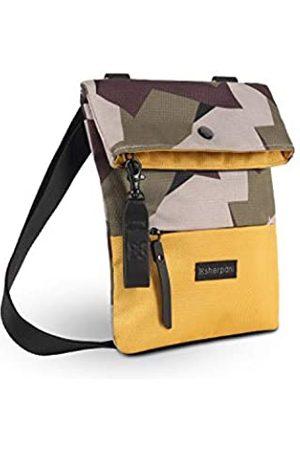 Sherpani Pica Umhängetasche aus recyceltem Nylon Mini Crossbody Tasche Schultertasche Mode Geldbörse für Damen RFID Schutz (Schwedische Camo)