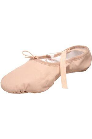 SANSHA Damen Schuhe - Pro 1 Leder-Ballettschuhe, Pink (Rose)