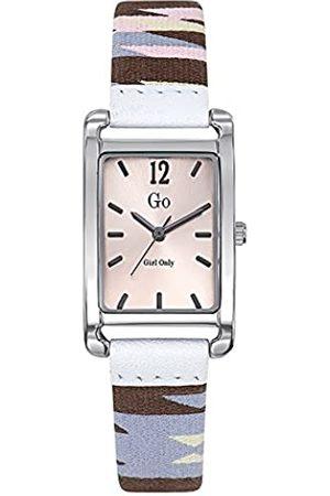 GO Girl Only Damen Analog Quarz Uhr mit Stoff Armband 699139