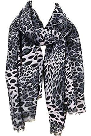 Rosemarie & Jubalee Damen Get Wild Leopard Print Fashion Schal Wrap Schal 182