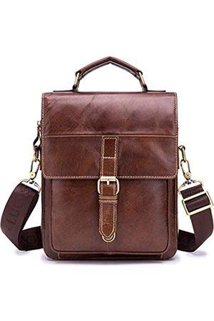 Tippnox Umhängetasche aus echtem Leder für Herren, Kuriertasche, Umhängetasche, Business, Mann, Aktentasche für die Arbeit, (91205 )