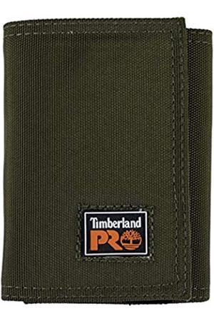 Timberland Herren Cordura Velcro Nylon RFID Trifold Wallet with ID Window Geldbrse