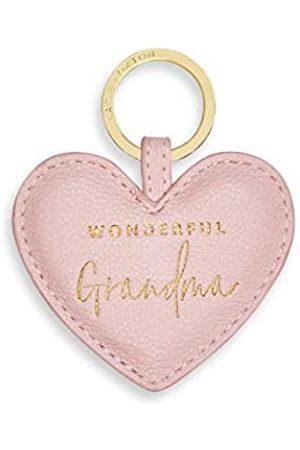 Katie Loxton Wunderbare Oma Damen Schlüsselanhänger aus veganem Leder, in Geschenkbox mit Herzform