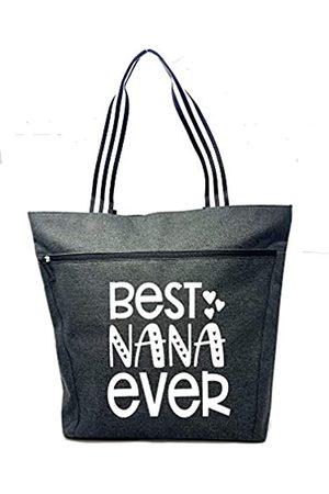 Brooke & Jess Designs Große Reißverschluss-Tragetasche mit Taschen für Oma – perfektes Geschenk