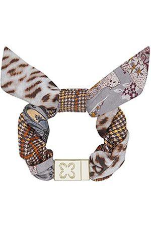 Codello Lifestyle Accessories CODELLO Damen Armband, Karo Safariprint grau