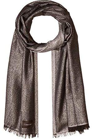 Calvin Klein Damen LIGHTWEIGHT LUREX PLAITED SCARF Mode-Schal