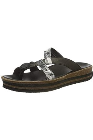 Think! Damen ZEGA_3-000238 nachhaltige Zehentrenner Sandale, 0000 SZ/KOMBI