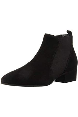 Aquatalia Women's Falco Suede Chelsea Boot, black