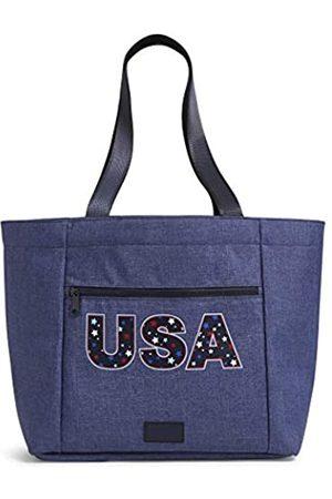Vera Bradley Damen Recycled Lighten Up Reactive Drawstring Family Tote Bag Handtasche